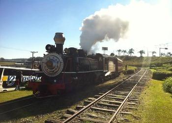 Trem do Vinho: Locomotiva em Bento Gonçalves
